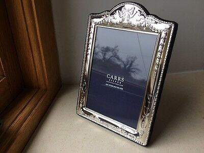 Carrs of Sheffield 925 Solid Silver photo picture frame, 5 x 3.5