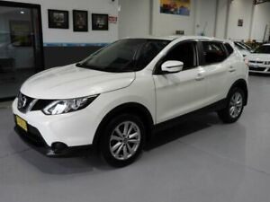 2017 Nissan Qashqai J11 ST Wagon 5dr CVT 1sp 2.0i White Pearl Constant Variable Wagon Pendle Hill Parramatta Area Preview