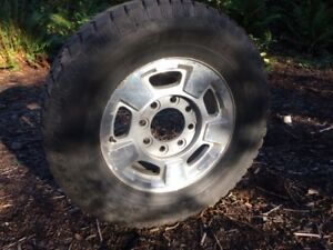 Trail Cutter 17 Inch Winter Tires and GM/Chev Rims for Sale