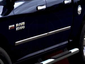 Dodge Ram chrome body side moldings