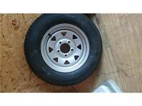 ST 175/80D13 trailer wheels with tires