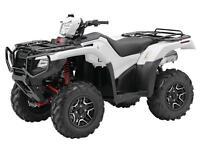 2015 HONDA ATV TRX420 & TRX500 W/ WINCH INSTALLED.  August Only!