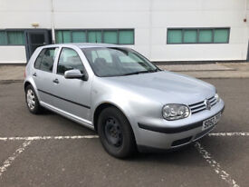 VW Golf Mk4 1.9 TDi Silver 2002 MOT Until Sept 2018