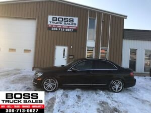 2014 Mercedes-Benz C-Class C 300 Black On Black Loaded! PST PAID