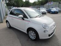 Fiat 500 POP (white) 2009