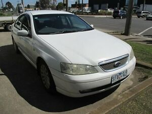 2003 Ford Fairmont BA White 4 Speed Automatic Sedan Tottenham Maribyrnong Area Preview
