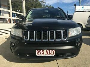 2012 Jeep Compass MK MY12 Limited Black Wagon Surfers Paradise Gold Coast City Preview