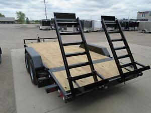 EQUIPMENT TRAILER - BUY DIRECT AND SAVE - 5 TON MODEL - 16' DECK London Ontario image 2