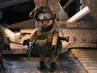 Playmobil Custom Soldado Israeli (fdi)(fuerza De Defensa Israeli) Ref-0203 Bis -  - ebay.es