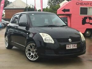 2010 Suzuki Swift RS415 GLX Black 5 Speed Manual Hatchback South Toowoomba Toowoomba City Preview