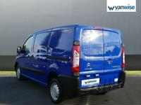 2015 Citroen Dispatch 1000 1.6 HDi 90 H1 Van Enterprise Diesel blue Manual