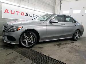 2015 Mercedes C300 4MATIC NAVIGATION HUD TOIT PANOR. CUIR CAMERA