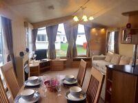 3 bedrooms, 12 month season offset your cost including decking amazing caravan essex