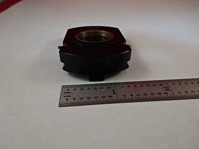 Microscope Part Zeiss Polarizer Objective Holder Pol Optics As Is T2-b-07