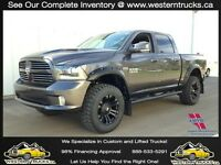 2015 Ram 1500 SPORT, NAV~LEATHER~LIFTED ~ Save over $28,000**
