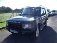 LAND ROVER DISCOVERY TD5 GS 5STR, Green, Auto, Diesel, 2002