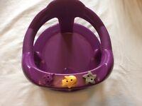 Thermobaby Aquababy Bath Seat - Purple