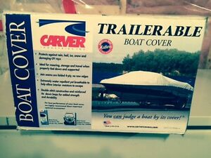 Carver 8 oz. Performance Poly-Guard Semi-Custom Boat Cover NEW