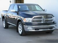 2012 Ram 1/2 Ton Absolutely Loaded! HEMI Dual Exhaust One Owner