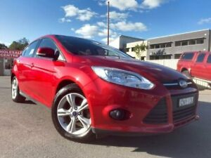 2013 Ford Focus LW MK2 Trend Red 6 Speed Automatic Hatchback Edgeworth Lake Macquarie Area Preview