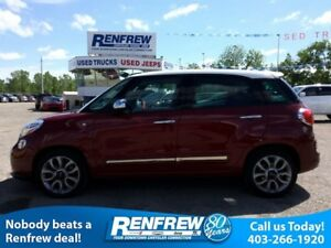 2015 Fiat 500L Lounge Automatic, Panormic Sunroof, Beats Audio