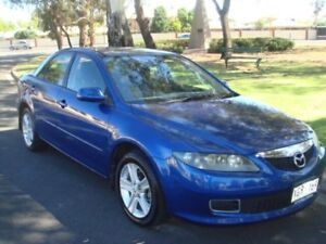 2005 Mazda 6 GG1032 Classic Blue 5 Speed Sports Automatic Sedan Broadview Port Adelaide Area Preview