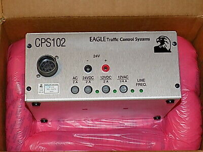Eagle Cps102 Power Supply For Traffic Light Control Cabinets