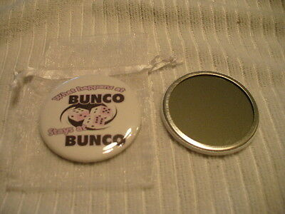 Pocket Purse Mirror Bunko or Bunco