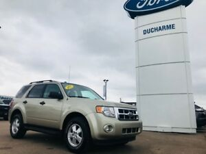 2012 Ford Escape XLT, 4x4, R/Start, 2 Sets Of Tires/Wheels, $125