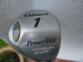 DRIVER T- MINUS, G/S SLAM POWER / BILT