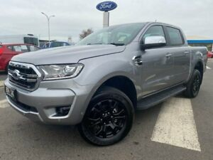 2019 Ford Ranger PX MkIII 2019.75MY XLT Pick-up Double Cab Silver 10 Speed Sports Automatic Utility Kilmore Mitchell Area Preview