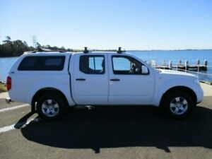 2015 Nissan Navara D40 MY13 RX (4x4) White 6 Speed Manual Dual Cab Pick-up Dapto Wollongong Area Preview