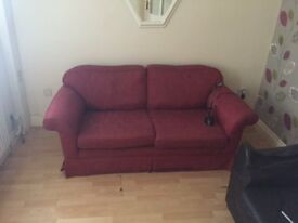 Sofa couch settee for sale- perfect for those renting or starting out