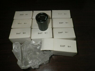 Brand New Japanese Meiji Emz Microscope Eyepieces S Swf10x Set Of 2