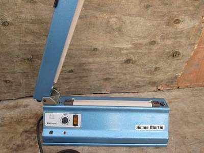 HULME MARTIN - GUILLOTINE TYPE - HEAT SEALER - FOR PLASTIC BAGS ***-BRITISH MADE