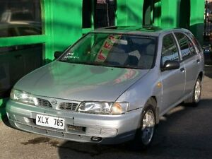 1998 Nissan Pulsar N15 Plus Silver 5 Speed Manual Hatchback Nailsworth Prospect Area Preview