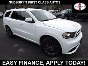 2017 Dodge Durango R/T NAV! HEATED SEATS & STEERING! MOONROOF!