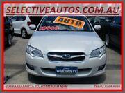 2008 Subaru Liberty MY08 2.5I White 4 Speed Auto Elec Sportshift Wagon Homebush Strathfield Area Preview