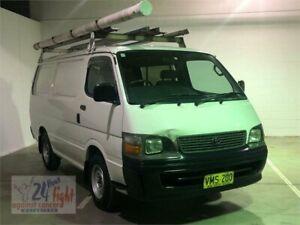 1998 Toyota HiAce RZH103R White Manual Van Campbelltown Campbelltown Area Preview