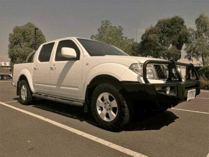 2011 Nissan Navara D40 ST (4x4) 6 Speed Manual Dual Cab Pick-up Fawkner Moreland Area Preview