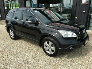 2008 Honda CR-V Luxury Black 5 Speed Automatic Wagon Biggera Waters Gold Coast City Preview