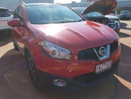 2013 Nissan Dualis J10W Series 4 MY13 Ti-L Hatch X-tronic 2WD Red 6 Speed Constant Variable Dandenong Greater Dandenong Preview
