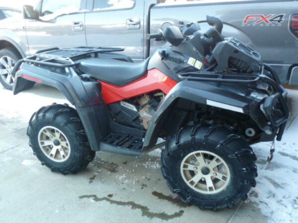 Used 2009 Can-Am Outlander 650xt