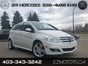 2011 MERCEDES BENZ B200 ONLY 46000KMS!! NO ACCIDENTS!