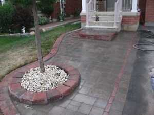 SODDING INTERLOCKING DECKS STEPS WALKWAYS PATIOS
