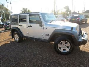 2009 Jeep Wrangler JK MY2009 Unlimited Sport Silver 6 Speed Manual Softtop Heatherbrae Port Stephens Area Preview