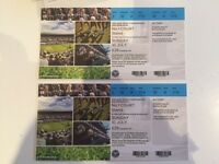 2 x Mens Single days Court 1 tickets for sale £400 each