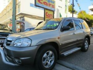 2003 Mazda Tribute LUXURY Luxury Gold 4 Speed Automatic 4x4 Wagon Southport Gold Coast City Preview