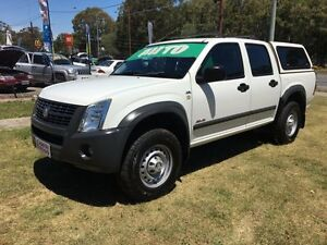 2007 Holden Rodeo RA MY06 Upgrade LX (4x4) White 4 Speed Automatic Clontarf Redcliffe Area Preview