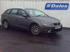 Seat Leon ST 1.6 TDI SE 5Dr DSG [technology Pack] (technic grey) 2014